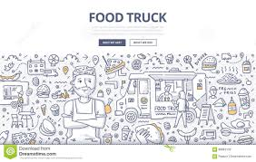 Food Truck Doodle Concept Stock Vector. Illustration Of Meal - 98863150 Doodle Truck Iphone App Review Youtube Vehicle Service Delivery Transport Vector Illustration Tractor With A Farm And Trees Fence Rooster Stock Art More Images Of Backgrounds 487512900 Truck Doodle Drawing Hchjjl 82428922 Airport Stair Helicopter Fun Iosandroid Tablet Hd Gameplay 317757446 Shutterstock Stock Vector Travel 50647601