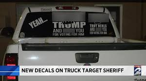 Texas Motorist With Profane Anti-Trump Sticker On Truck Adds Local ... Ford F150 Decals Graphics Sticker Genius Bbqfuka 2pcs New Pair X41cm Black Us Army Military Star Car Truck Cutting Sticker Truck Cutting Stiker Di Denpasar Bali Murah Bagus And Vehicle Decal Graphic Design Stock Vector Illustration Arstic Horse Vinyl Standing With Delivery Royalty Free Image Cute Personalized Bots Name Nursery Largemouth Bass Respect The Fish Low And Slow Cool Fashion Art Font Text Window Slammed Ranger Single Cab 25 X 85 Firefighter