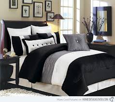 Charming Black And White Bedding Ensembles 97 In Bohemian Duvet