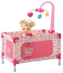 Baby Alive Play Yard with mobile Toys