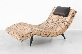 100 Pearsall Chaise Lounge Chair PEARSALL WAVE CHAISE MATTHEW RACHMAN GALLERY