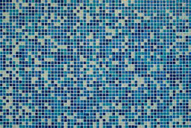 blue mosaic value stock photo