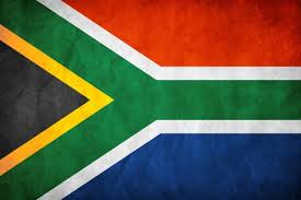 Irene Nell South Africa flag pany