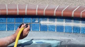 diy pool tile cleaning or hire a professional above all pool