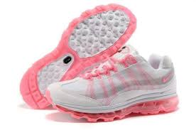 Vogue Vintage Women Nike Air Max 95 360 Running Shoes Pink White Wire Drawing Jo95874875
