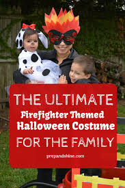 100 Fire Truck Halloween Costume How To Prep Fighter Themed For The Family