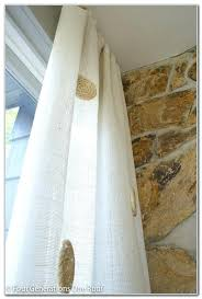 Curtains With Grommets Diy by Burlap Curtains With Grommets U2013 Bazaraurorita Com