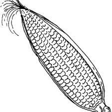 Steam Corn Coloring Page