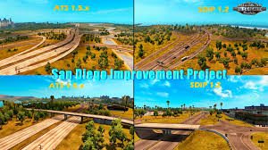 San Diego Improvement Project V1.2 (1.5.x) For ATS » Download Game ... Best Game Truck In Los Angeles Video Party Rental Usa To The Max V111 Map American Simulator Mod Ats Rolling Games Videos West Tampa Mobile Youtube Gameplay 1 San Diego Sacramento Gametruck 6000 Garners Ferry Rd Columbia Sc Media There Taptrucksdcom Looking Forward Mod Download Bicharracos Made Barstow Boston And Watertag Trucks Acvities Shopping Touch A