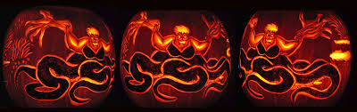 Corpse Bride Pumpkin Pattern Free by Noel Ursula 3 Shots Thin Png