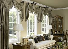 choosing swag curtains for living room designs ideas decors