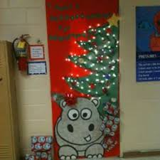 christmas christmas classroom door decorations buddy the elf