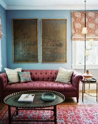 Full Size Of Powderunique Interior Living Room Color Idea Blue Walls Decor Berry Tone Tufted Sofa