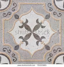 floor tiles porcelain ceramic tile geometric stock photo 753123865