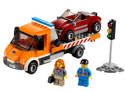 100 Lego City Tow Truck Flatbed 60017