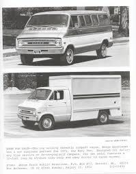 Amazon.com: 1973 Dodge Sportsman Kary Van ORIGINAL Factory Photo ...