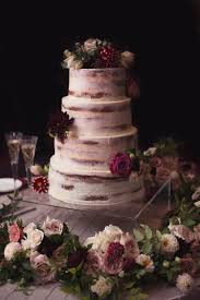 Lightly Iced Wedding Cakes