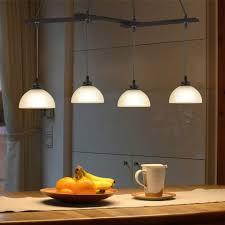 zmh pendelleuchte hängeleuchte 4 flammig vintage hängele esstisch höhenverstellbar pendelle aus glas e27 für esszimmer kaufen otto
