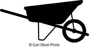 Wheelbarrow cart shade picture