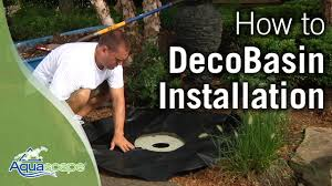 How To Install An Aquascape DecoBasin Fountain Kit - YouTube Small Pond Pump Fountain Aquascape Ultra How To Set Up A Fire Youtube Under Water Waterfall Aquascape Pumps Submersible Top 10 Features Add Your Inc Aquabasin 30 Aquascapes Amazoncom 58064 Stacked Slate Urn Kit Spillway Bowls Green Industry Pros Basalt In Our Garden Gallery Column To Create An Easy Container Water Feature With