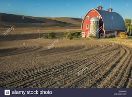 Tilled Fields And Red Barn, Near Colfax, Palouse Country ... Red Barn Washington Landscape Pictures Pinterest Barns Original Boeing Airplane Company Building Museum The The Manufacturing Plant Exterior Of A Red Barn In Palouse Farmland Spring Uniontown Ewan Area Usa Stock Photo Royalty And White Fence State Seattle Flight Interior Hip Roof Rural Pasture Land White Fence On Olympic Pensinula