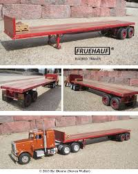 AMT's FRUEHAUF Flatbed Trailer Kit By Deorse On DeviantArt