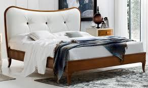 casa padrino luxus biedermeier doppelbett braun weiß 182 x 214 x h 120 cm massivholz bett mit echtleder kopfteil schlafzimmer möbel luxus