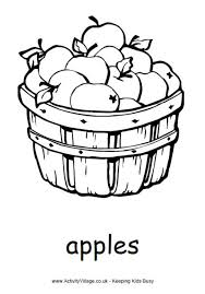 More Harvest Colouring Fun Food Pages