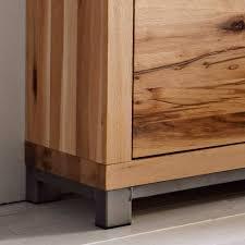massivholz wohnzimmer möbel set icrida 4 teilig