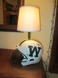 Picture Of Football Helmet Desk Lamp