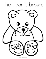 Full Size Of Coloring Pagebrown Page Bear Pages What Do You See Free