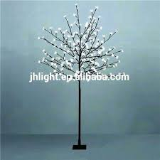 Pre Lit Twig Tree Trees Led Brown Outdoor