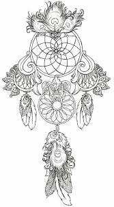 Adult Coloring Pages Dream Catcher