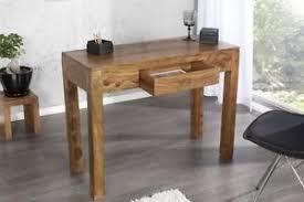 bureau console bois secrétaire bureau console jakarta 100cm sheesham bois massif bois