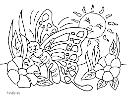 Butterfly JPG PDF With Kids Coloring Pages Pdf Page Best Of