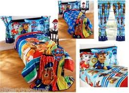 NEW KIDS GIRLS BOYS PAW PATROL BEDDING BED IN A BAG FORTER