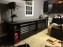 Sterilite 4 Shelf Cabinet Home Depot by Tool Box Workbench With Steel Top Homemade Black Shop Tool Boxes
