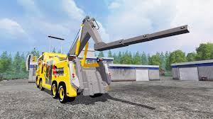 100 Tow Truck Simulator Scania R500 Tow Truck For Farming 2015