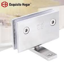 glas tür badezimmer edelstahl 304 wand montieren glas dusche 360 grad tür welle glas tür rotierenden welle scharnier