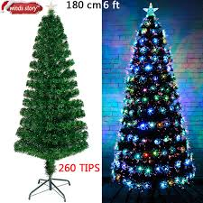 Fiber Optic Christmas Trees On Sale by Christmas Decorations 4 U0027 5 U0027 6 U0027 Fiber Optic Christmas Tree Led