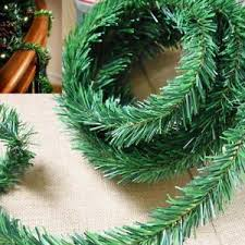 Image Is Loading 18ft 5 5M DIY Garland Christmas Decor Fireplace