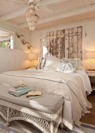 Vintage Headboard Crafted From Reclaimed Wood Shabby Chic Bedroom Decorating Ideas