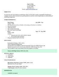 Resume Samples Word Doc Education Format Teacher Template Curriculum