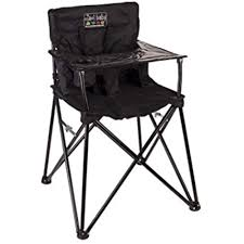 100 Travel High Chair Ciao Chairs Baby Portable Black 696539252302 EBay
