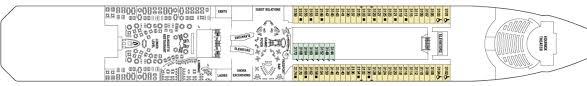 Celebrity Equinox Deck Plan 6 by Celebrity Equinox Celebrity Cruises Official Co Op Travel