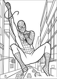 Excellent Free Spiderman Coloring Pages 66