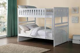 Homelegance Galen Full over Full Bunk Bed White B2053FFW 1