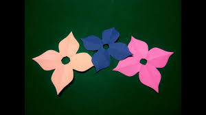How To Make Simple Easy Paper Flower