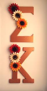 Sunflower Bath Gift Set by Floral Rustic Gold Letters Sigmakappa L A Woodshop Pinterest