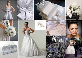 Tbdress Blog Silverline Your Wedding Day With Silver Themes